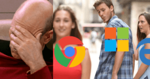 Microsoft Employee Installs 'Chrome' As Their Own Browser 'Edge' Kept Crashing During Live Demo