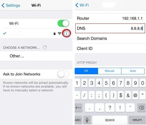 change-default-DNS