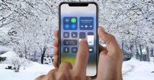 iPhone-X-unresponsive-cold-temperature