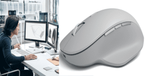 Now 'Control 3 Computers Simultaneously' With Surface Precision Mouse By Microsoft