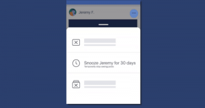 """Facebook Introduces """"Snooze"""" Feature To Temporarily Mute Your Annoying Friends"""