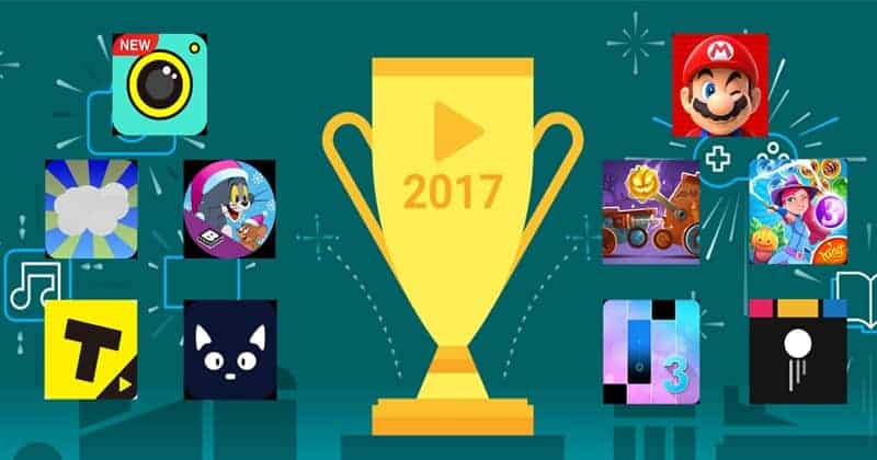 Best Android Apps, Games, TV Shows, Movies, Songs of 2017 - By Google