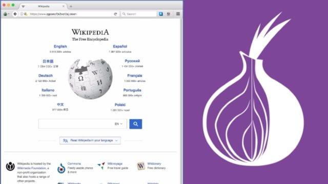 Wikipedia-Onion-Service