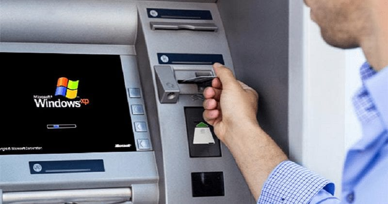 ATMs Running on Windows XP in Russia Hacked by Simply Pressing 'Shift' Key Five Times in a Row