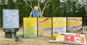 This Japanese Artist Is Creating Magnificent Paintings Using Nothing But Microsoft Excel