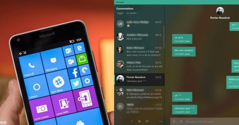 Microsoft Windows 10 Messaging App Gets An Update & It Looks Fluent
