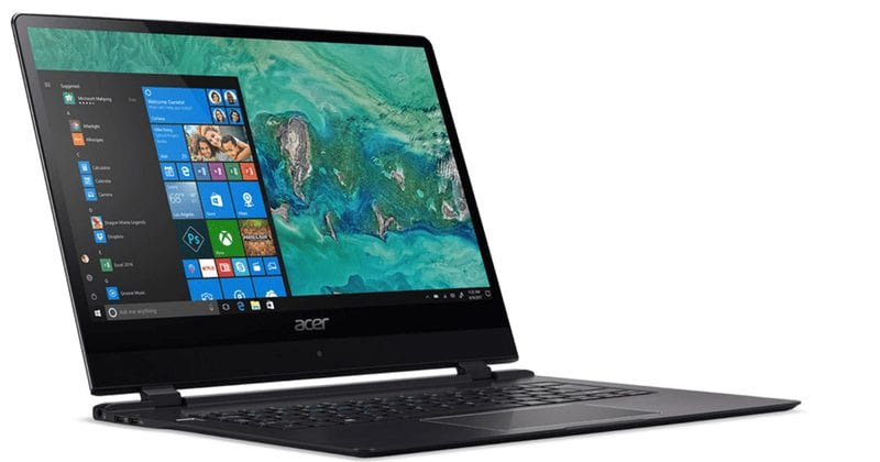 """ACER Unleashes """"The World's Thinnest Laptop"""" at CES 2018"""