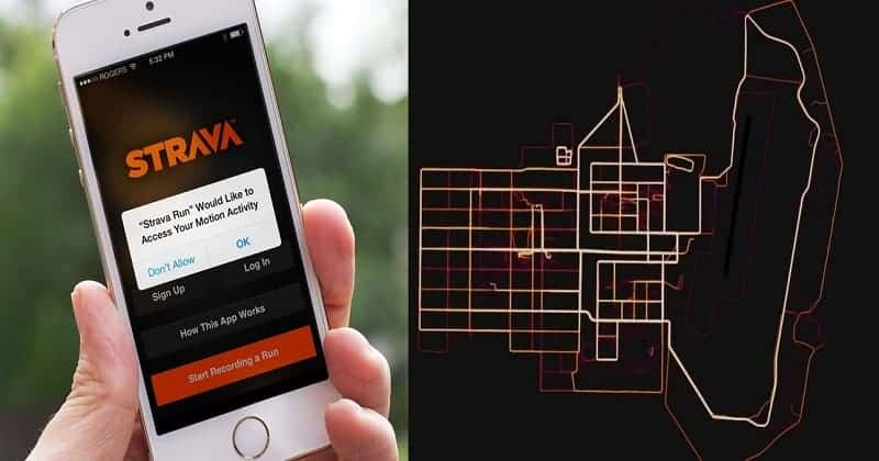 Fitness Tracking App 'Strava' Exposes Location of Secret Military Bases