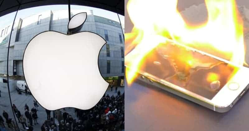 Zurich Apple Store Evacuated After iPhone Battery Overheats And Emits Smoke
