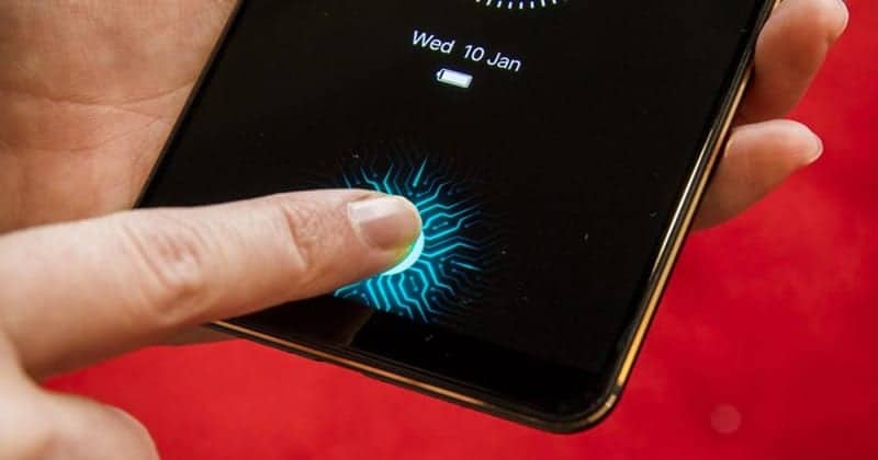 "Vivo Phone Shows Off World's First ""In-Display Fingerprint Sensor"" at CES 2018"