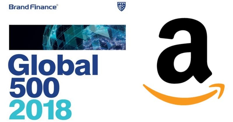 Amazon Beats Apple and Google To Become World's Most Valuable Brand
