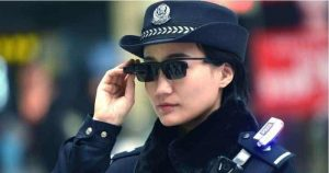 Chinese Police Wear Facial Recognition Glasses To Identify Crime Suspects