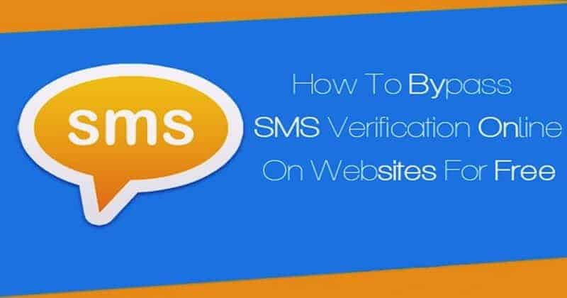 How to Bypass SMS/Call Verification on any Online Website/App