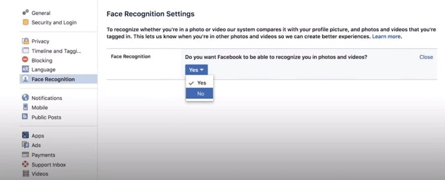 Turn-off-facebook-face-recognition
