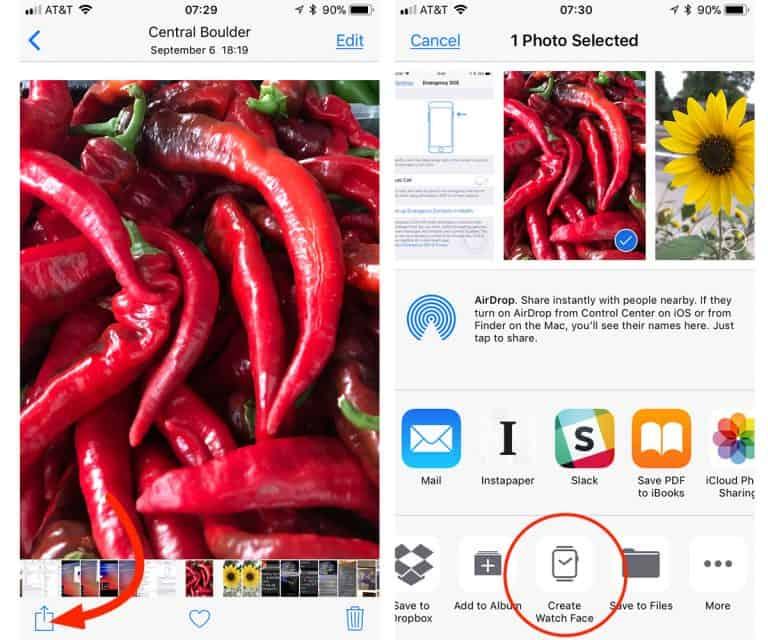 create-apple-watch-face-select-photo