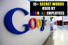 15+ secret words used by Googlers