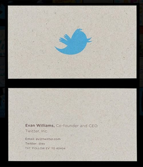 Evan Williams Business Card