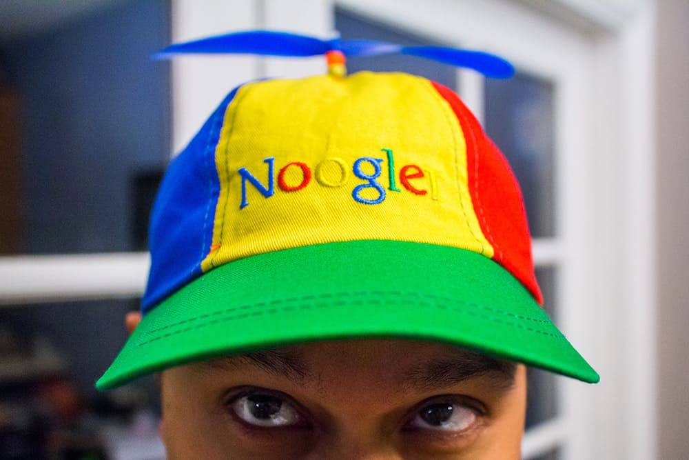 Noogler - Googlers Secret Word
