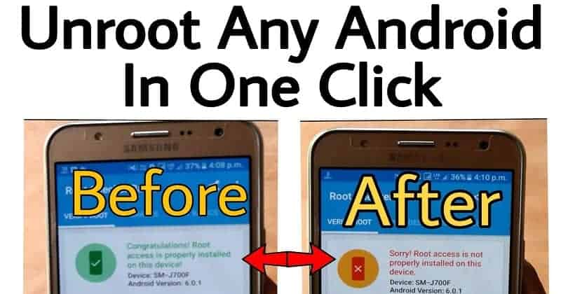 Unroot any Android Device