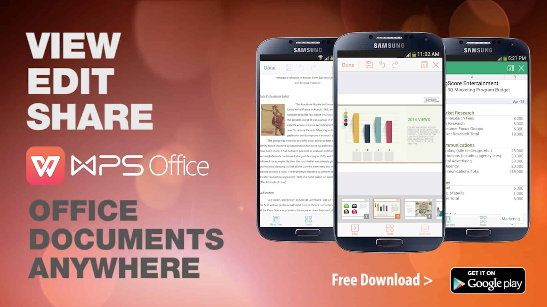 WPS Office PDF