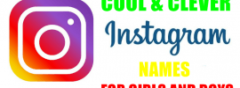 Instagram Usernames and Names