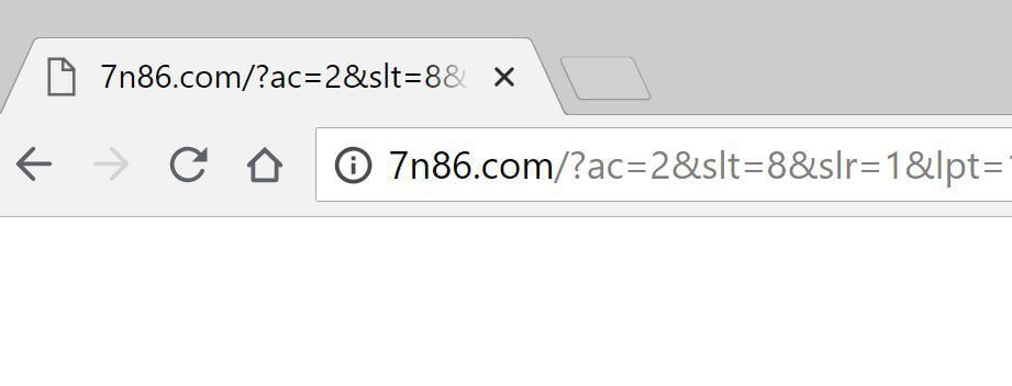 7n86.com redirect problem