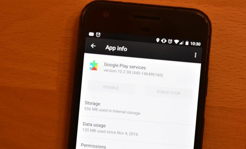 Clear-cache-of-Google-Play-services-app