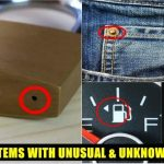 Items With Unusual Hidden Features