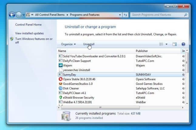 Remove-Malicious-Programs