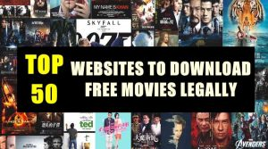 Free Movie Download Sites | Top 23 Websites That Are Completely Legal