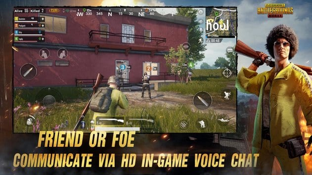 pubg mobile game friend voice chat