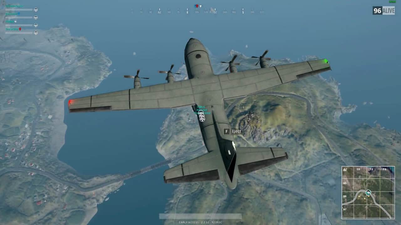 pubg skydive