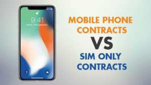 Mobile phone contracts vs sim only ontracts - iPhone X Airtel vs Amazon