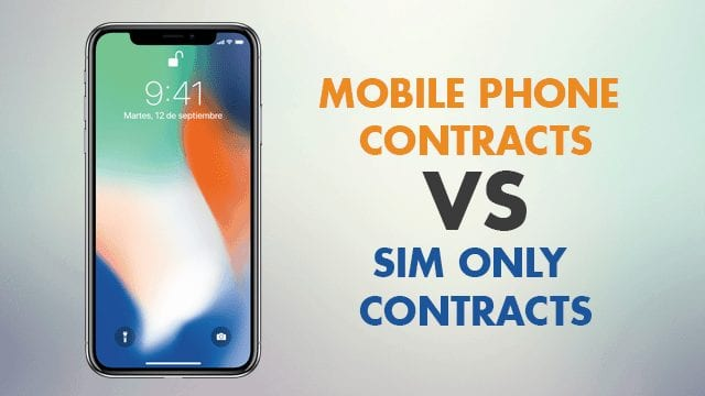 iPhone X: Mobile Phone Contracts vs SIM Only Contracts (Airtel vs Amazon)