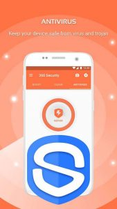4 best free anti virus android apps - 360 mobile security