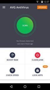 4 best free anti virus android apps - avg antivirus mobile security
