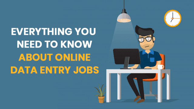 How to get onliune data entry jobs