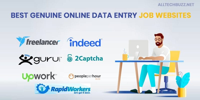 Best genuine online data entry job websites
