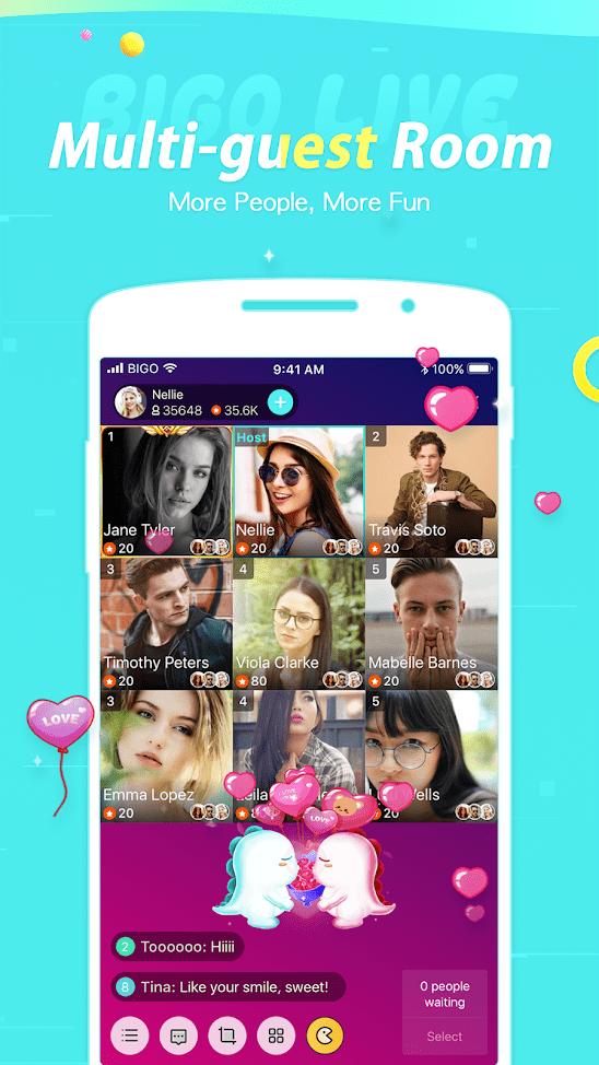 7 Best Online Chat Apps to Talk to Strangers - BIGO LIVE - Live Stream