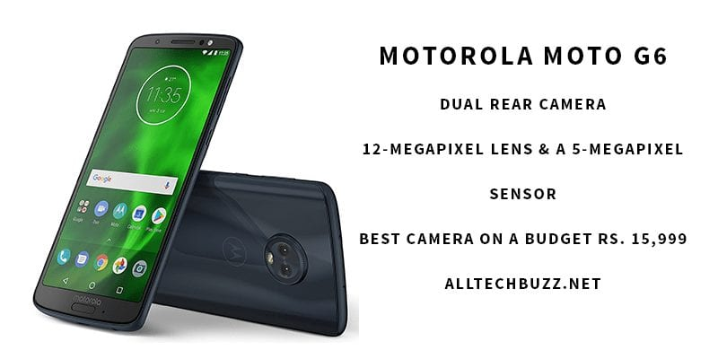 Best smartphone cameras for world photo day - Motorola moto g6 Review