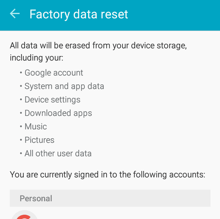 How to remove virus from android phones - reset phone to factory settings