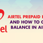 Airtel prepaid plans, unlimited plans, internet plans, roaming plans and how to check balance in airtel