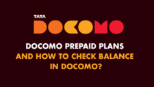 Docomo prepaid plans and how to check balance in docomo