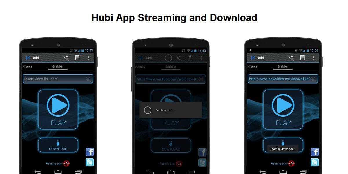 Hubi App - Best Apps for Movie Download for Android