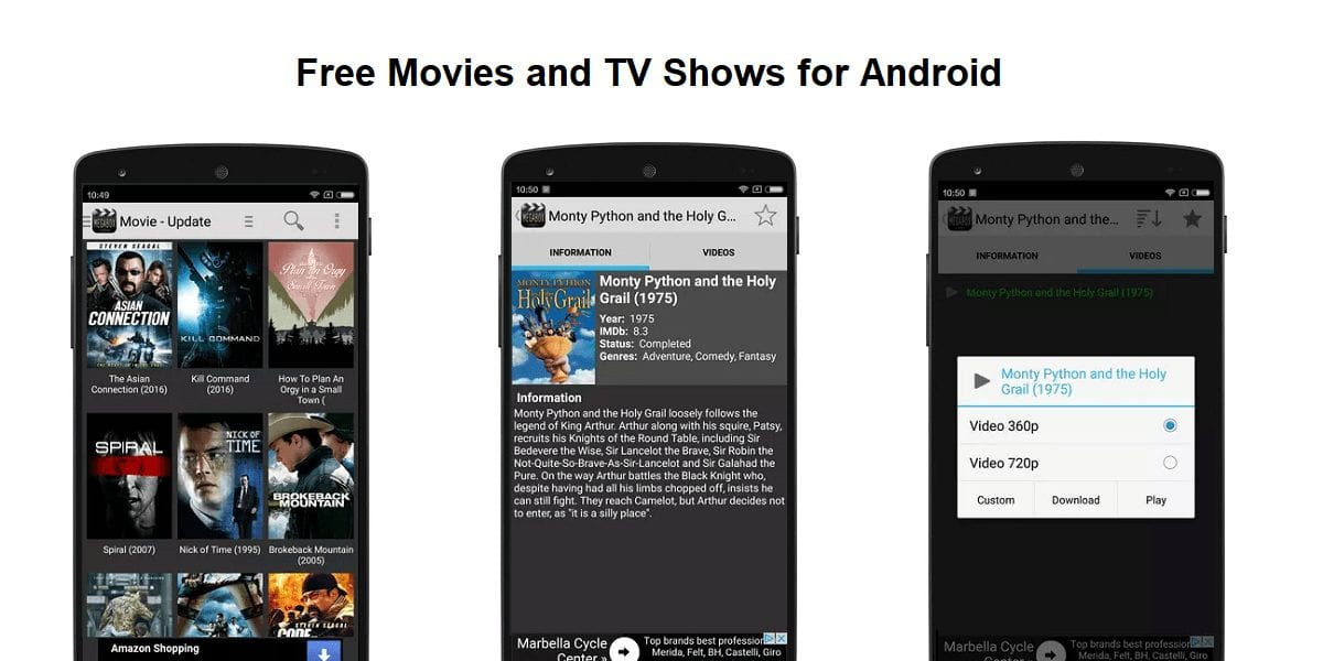MegaBox HD - Best Apps for Movie Download for Android