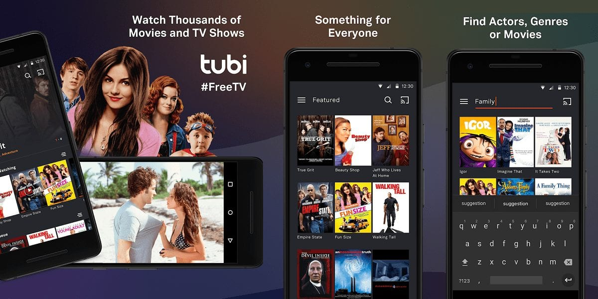 Tubi TV - Best Apps for Movie Download for Android
