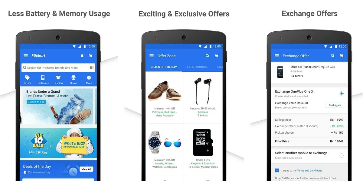 Flipkart Online Shopping App Review - 30 Best Online shopping Apps in India