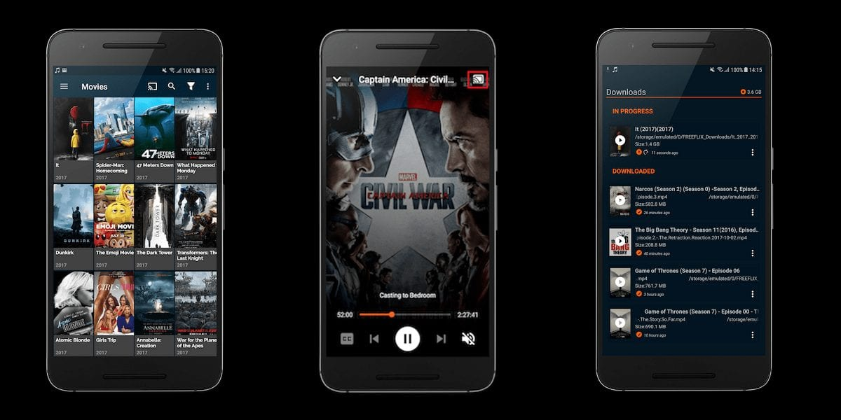 Freeflix HQ - Best Apps for Movie Download for Android
