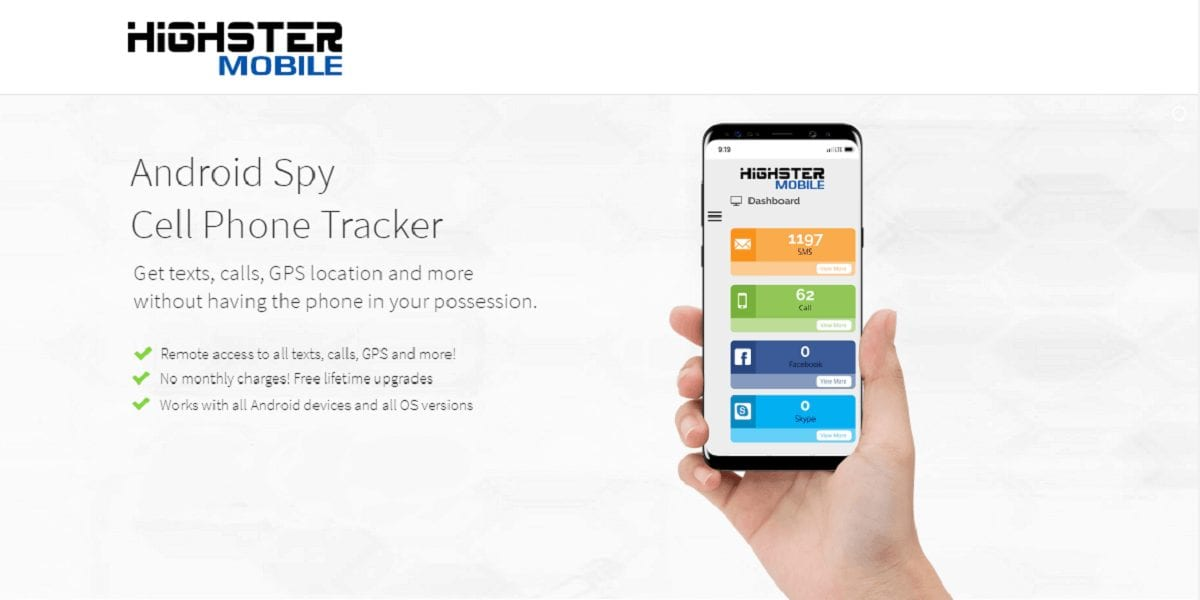 Highster Mobile Spy App Review - 10 Best Spy Apps for Android Smartphones