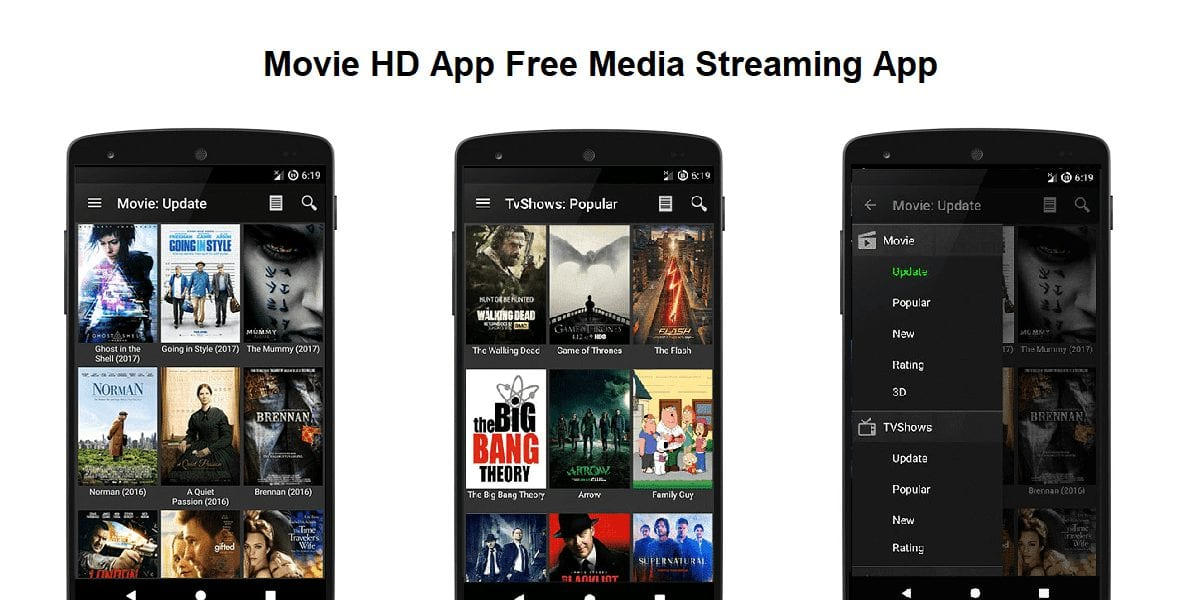 Movie HD App - Best Apps for Movie Download for Android